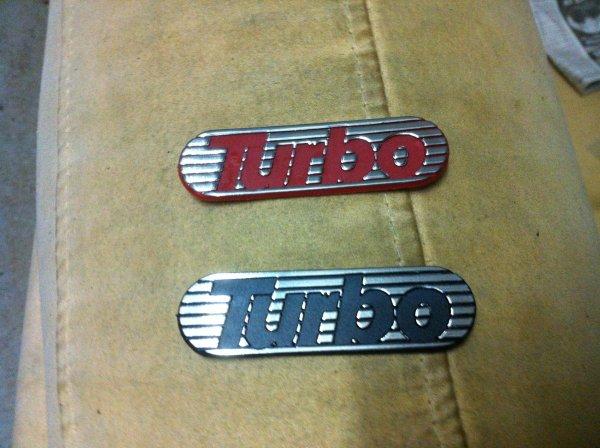autocollants 103 turbo 16