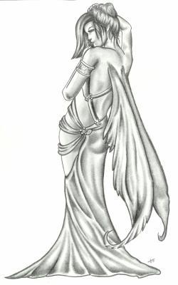 Femme Ange Le Tatouage Par Excellence