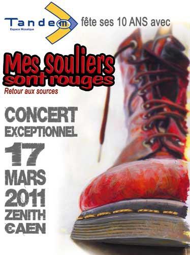 Concert Mes Souliers Sont Rouges