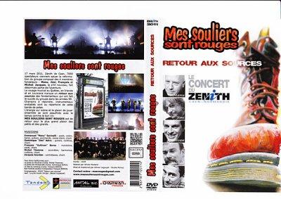 DVD du concert au Zénith de Caen