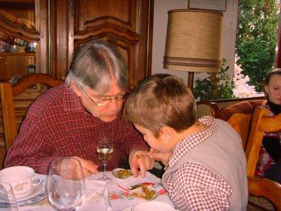 ANNEE 2009.........NOEL CHEZ MES PARENTS AVEC TOUTE MA FAMILLE ..........(SAMEDI LE 26 DECEMBRE).........