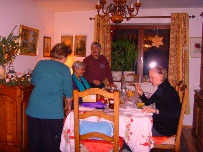 ANNEE 2009.......NOEL CHEZ MES PARENTS AVEC MA FAMILLE.......(SAMEDI LE 26 DECEMBRE).......
