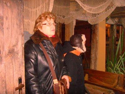 ANNEE 2009.......ECOMUSEE D'ALSACE UNGERSHEIM AVEC MA FAMILLE.......(DIMANCHE LE 27 DECEMBRE).......METIIER DE PECHEUR.......