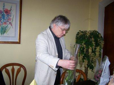 ANNEE 2010.......ANNIVERSAIRE OTTO ( 9 AVRIL 2010)..........RESTAURANT L'AUBERGE DU CHENE A RUELISHEIM.......