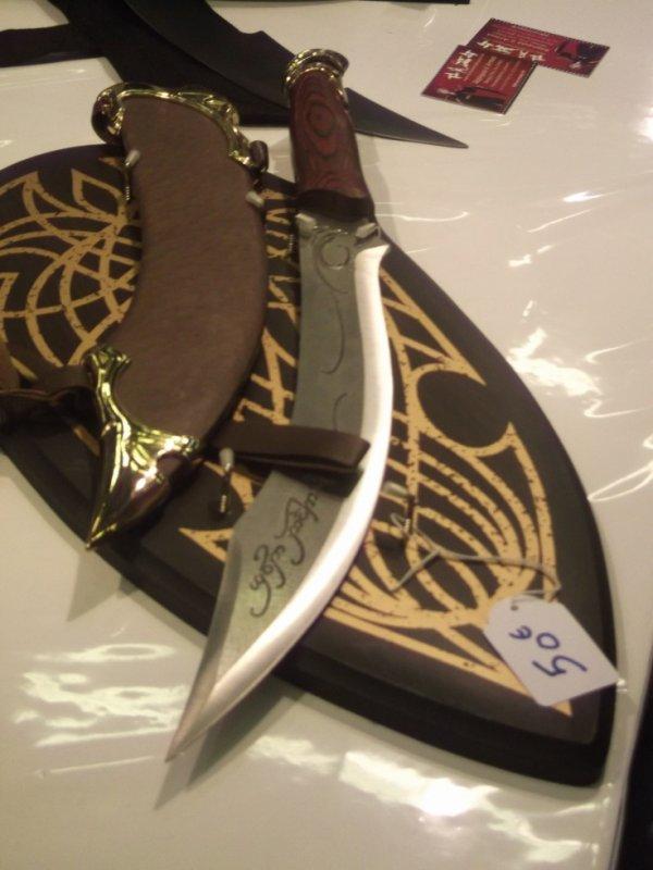 petite épée d'Aragorn