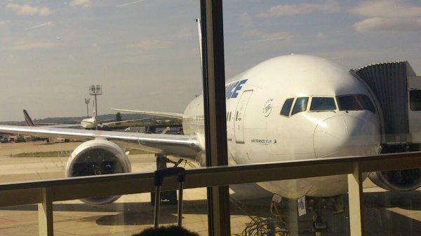 En attendant mon vol pour Guadeloupe !