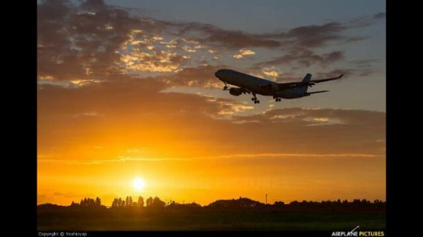 Sun et airplanes