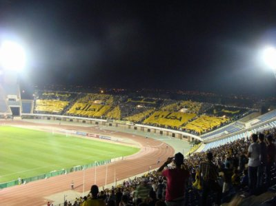 """Tifo Fatal Tigers Contre Rca """" MAS 2 - Rca 1 """" We are the best ;)"""