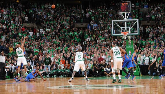 Game 1 Boston Celtics-Knicks 87-85