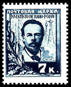 Commemorating the work of Alexander Popov on Radio Day in Russia