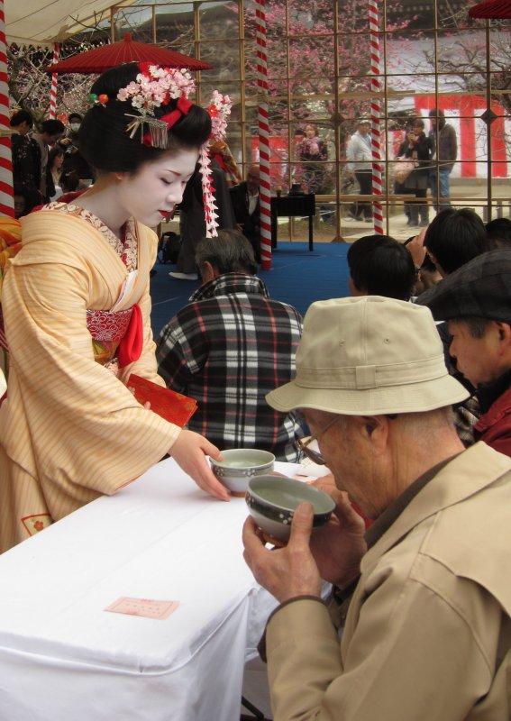 """""""Kitano Tenman-gū  Plum Blossom Festival"""""""