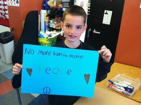 """No More Hurting People"" Peace"