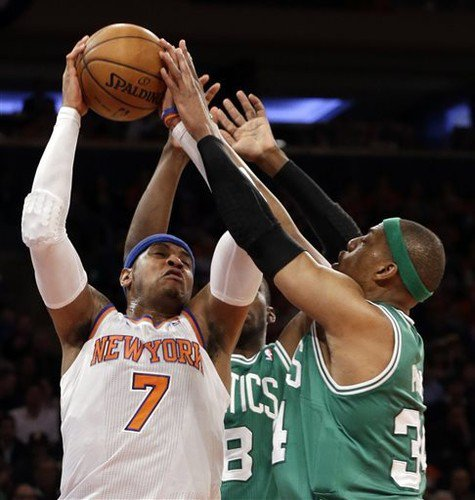 Boston Celtics-Knicks Game 1