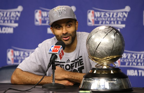 San Antonio Spurs Tony Parker The NBA FINALS 2013