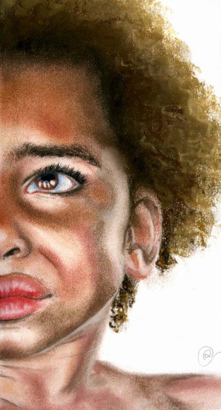 Enfant africain - Pastels - 06/2012