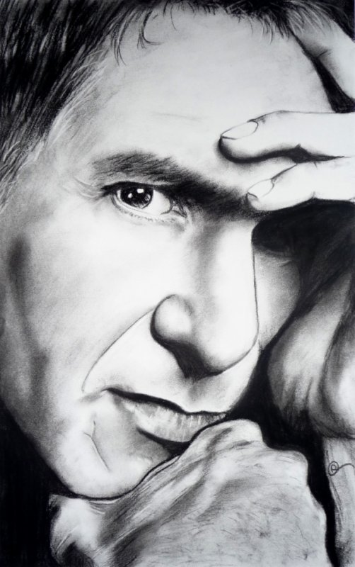Harrison Ford - 08/11/2012- Fusains