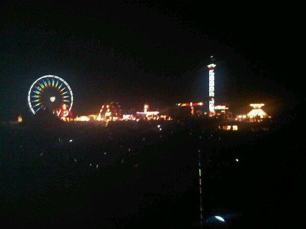 photos que Justin à posté sur son twitter lorsqu'il était à Vermont. ''Nuit génial à la foire. Merci Vermont''