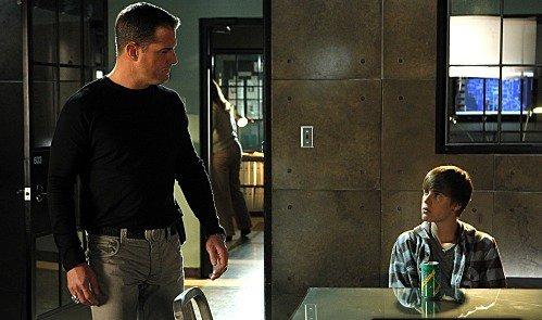 Une nouvelle photo de CSI :). L'émission sera diffusé le 17 février prochain :D