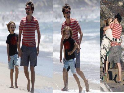 Matthew & Ryder a la plage ! :)