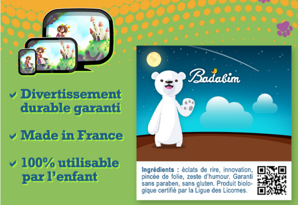 Désormais sur vos tablettes Android : l'application enfants Badabim
