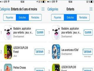 Appli enfants Badabim : déjà classé 1re de sa catégorie sur iTunes