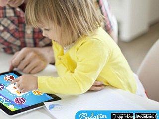 Enfant qui s'amuse hors danger avec l'application Badabim !