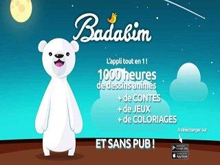 Application Badabim vous présente sa nouvelle page d'accueil animée