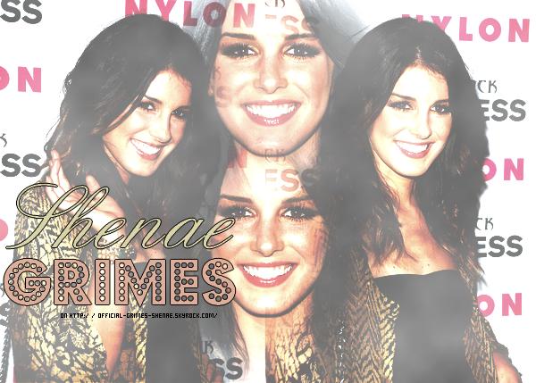 Bienvenue sur Grimes-Shenae, ta source sur talentueuse l'actrice Shenae Grimes !