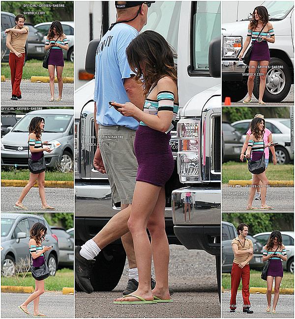 Le 07 Juin 2012 Shenae a été aperçue sur le tournage de son prochain film, « Empire State » !