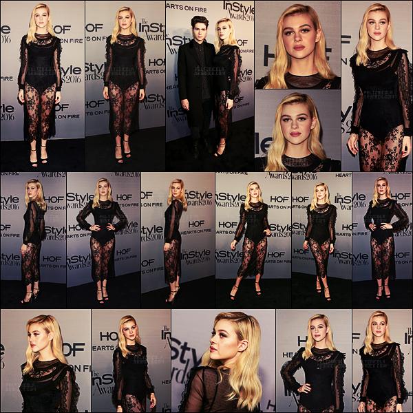 . ● La belle Nicola Peltz a assisté aux InStyle Awards, le 24 octobre, à Los Angeles, CA.  .