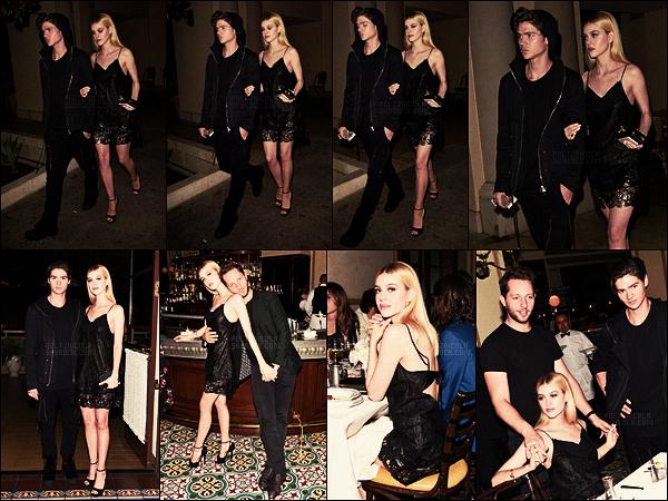 . ● Nicola Peltz et son frère  Will étaient au diner CFDA Vogue à Beverly Hills, le 26/10.  .