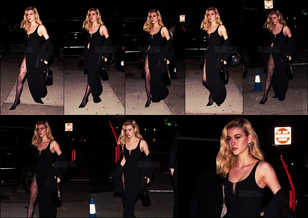 . ● Le 07/11, Nicola Peltz a été aux CFDA/Vogue Fashion Fund Awards dans New York.  .