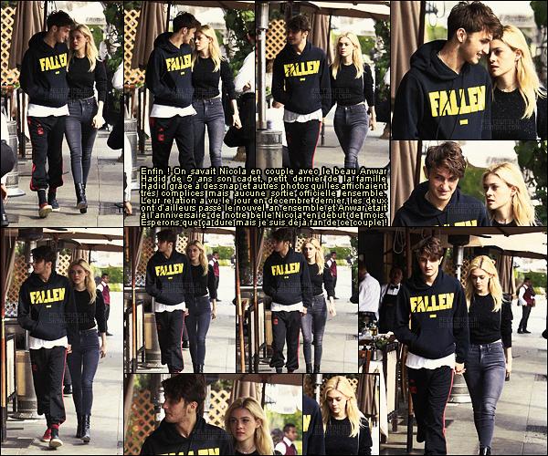 . ● Nicola Peltz et son boyfriend Anwar Hadid ont été vus à Beverly Hills, durant le 18/01.  .