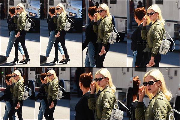 . ● Le 09/06, Nicola Peltz a été aperçue quittant le salon d'esthétique Epione dans Beverly Hills.  .
