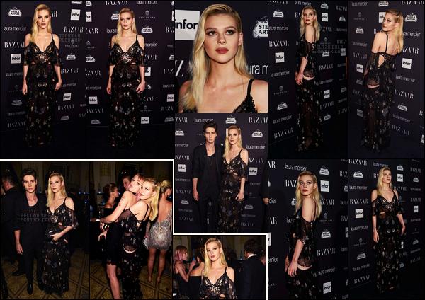 . ● Nicola Peltz était à une soirée organisée par Harper's Bazaar's dans New York, 09/09  .