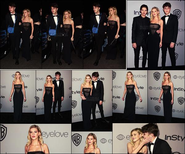 . ● Le 07/01, Nicola Peltz s'est rendue à l'after party des Golden Globes à Los Angeles.  .