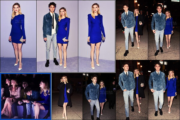 . ● Nicola Peltz s'est rendue au défilé  Tom Ford de la Fashion Week de New York, le 08/02.  .