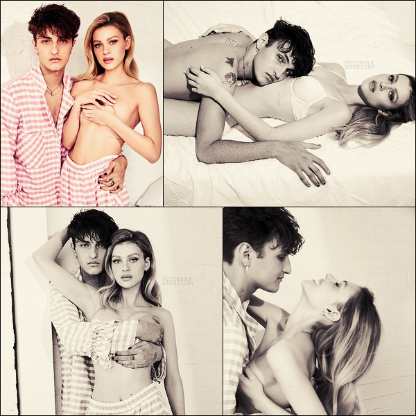 . ● ●  Nicola Peltz et son boyfriend Anwar Hadid pour Love Valentines par Doug Inglish !  .
