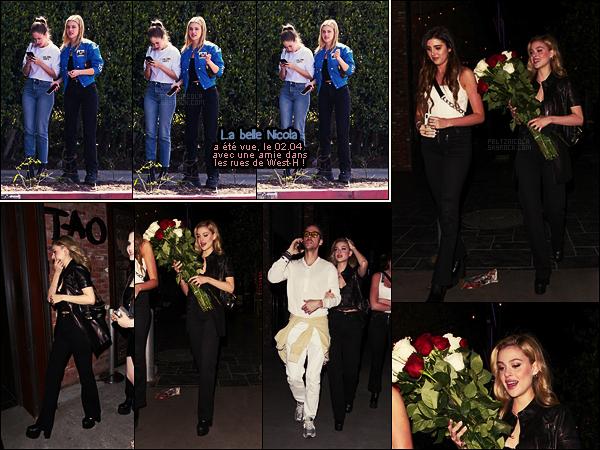 . ● Le 09/04, Nicola Peltz s'est rendue à la soirée de lancement de Twenty App, à Hollywood !  .