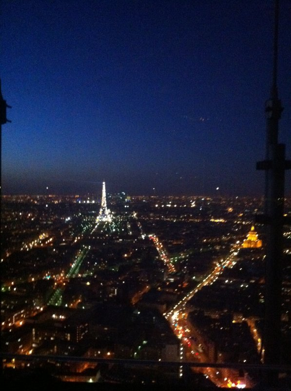 Paris la nuit !