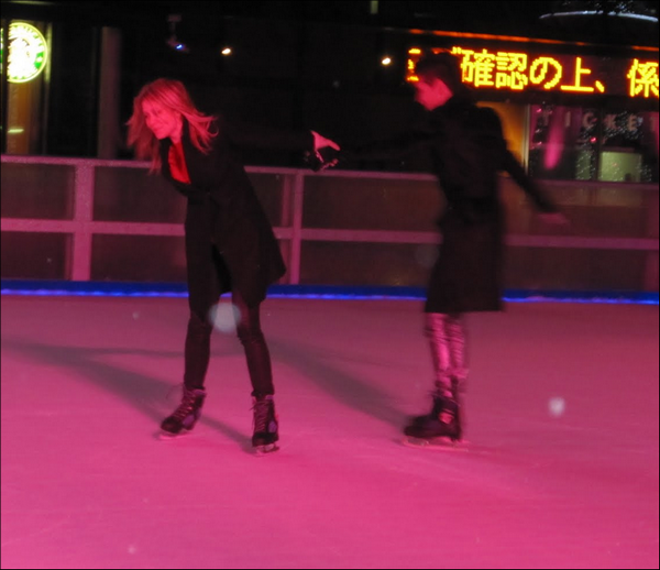 Le groupe à la patinoire (11.02.11)Les Photos *