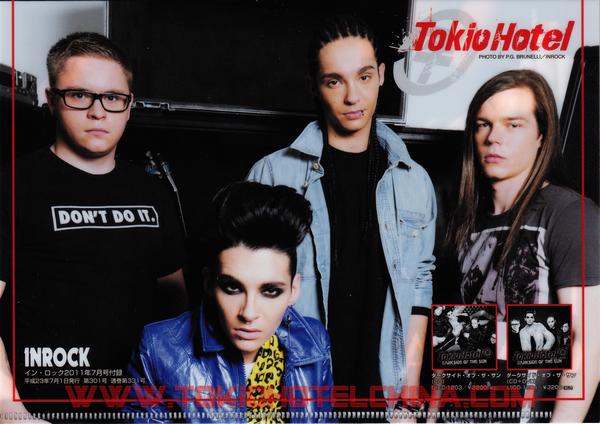 - 6483 - Magazine Inrock n°331 (Japon)