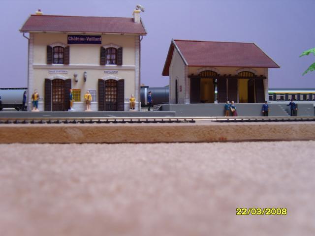 La gare Chateau Vaillant.