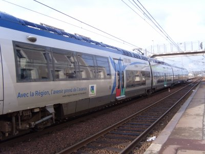 Ter Basse-Normandie en gare de Valognes