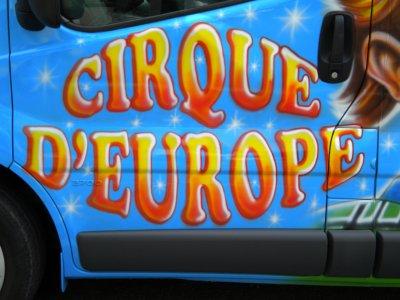 LE CIRQUE D'EUROPE A JAMAIS DANS MON COEUR