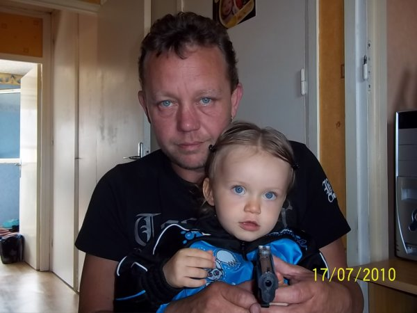 Léa et son père <3