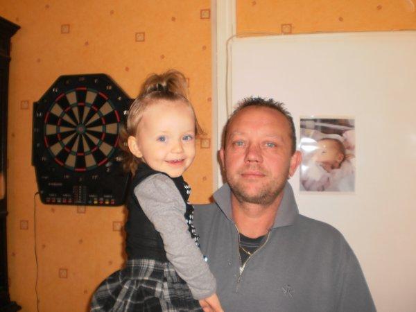 Léa et son papa :)