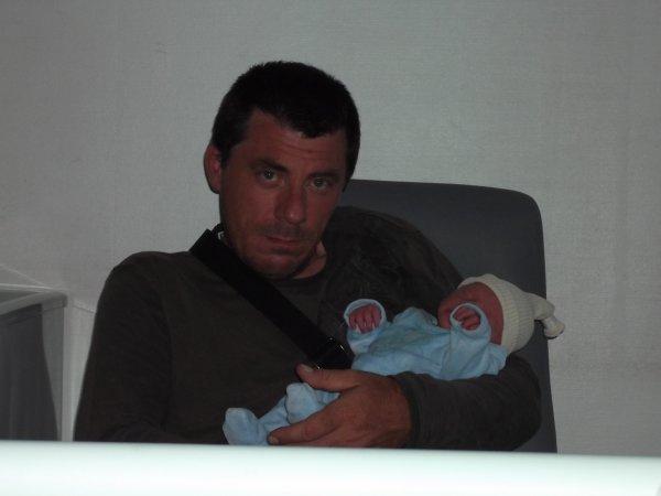 mon neuve et son père