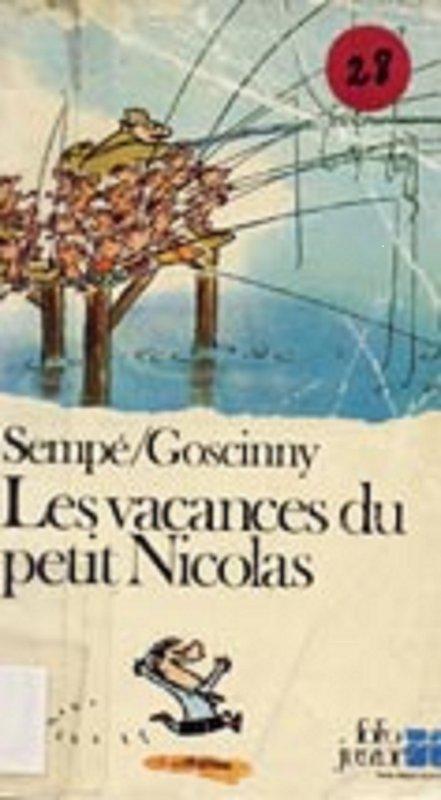 Les vacances du petit Nicolas de rené Goscinny