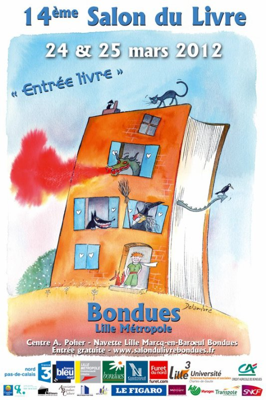 Salon du livre de bondues stories of books - Salon du livre tours ...